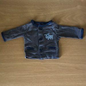 Carter's preemie pajama top
